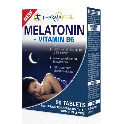 Melatonin + vitamin B6