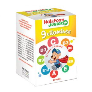 Nat&Form Junior + 9 vitamina