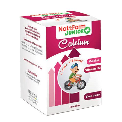 Nat&Form Junior + Calcium