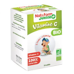 Nat&Form Junior + vitamin C