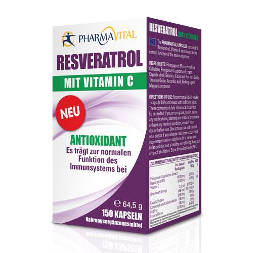 Resveratrol sa vitaminom C