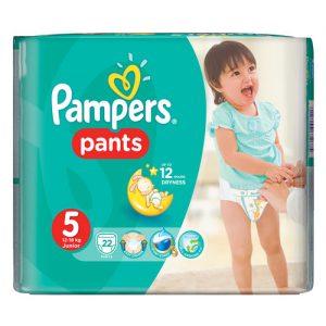 pampers junior pants 5 22/1