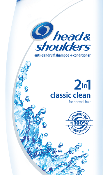 HEAD AND SHOULDERS 2IN1 CLASSIC CLEAN